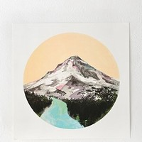 Cathy McMurray Mountain Print - Urban Outfitters