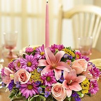 1-800-Flowers – Pastel Centerpiece – Large By 1800Flowers