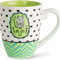 One wild cat Coffee Mug
