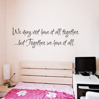 BUY ONE GET ONE FREE - Creative Decoration In House Wall Sticker. = 4799107460
