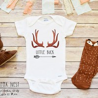 Baby Boy Onesuits®, Little Buck Onesuits®