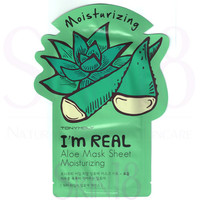 TonyMoly I'm Real Face Mask Sheet - Aloe  *exp.date 06/18