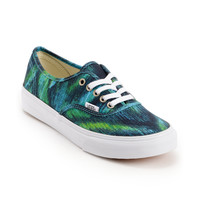 Vans Girls Authentic Slim Watercolor Shoe