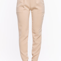 Side Buckle Slouchy Pant
