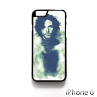 game of thrones a song of ice and fire tv series jon snow house stark kit harington for Iphone 4/4S Iphone 5/5S/5C Iphone 6/6S/6S Plus/6 Plus Phone case