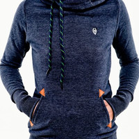 Women Hoodies Casual Hooded Long Sleeve Pocket Sweatshirt