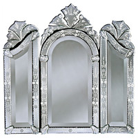 Mirrors, Parma Wall Mirror, Clear, Small Accent Mirrors