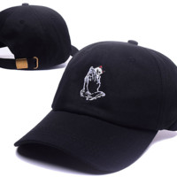 6 God Ripndip Pocket Cat Embroidered Adjustable Outdoor Baseball Cap Hats