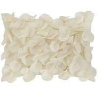 Petals Lumbar Pillow - Cream