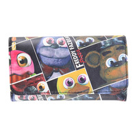 Five Nights At Freddy's Freddy Fazbear's Pizza Flap Wallet