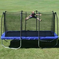 Skywalker Rectangle Trampoline with Enclosure, 15-Feet:Amazon:Sports & Outdoors