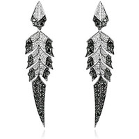Stephen Webster Magnipheasant Feathers Earrings