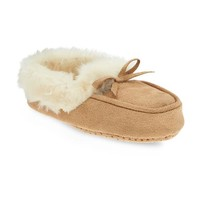 Old Navy Furry Sueded Mocassins