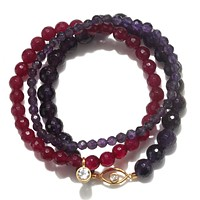 Protected with Positivity Bracelet Set