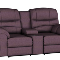 Dual Reclining Color Customizable Loveseat Sofa with Console Durant by Palliser