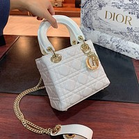Dior's new fashionable Princess Dior bag all-match single shoulder bag