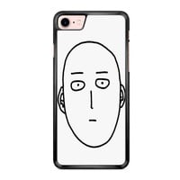 One Punch Man Saitama Face iPhone 7 Case