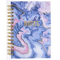 Blush & Blue Marble Hard Bound Journal