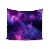 """Chelsea Victoria """"Infinity """" Purple Fantasy Wall Tapestry"""