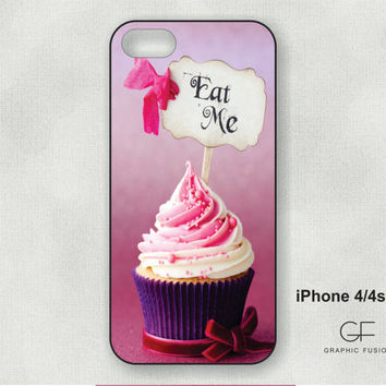 Choice of iphone 4/4s or 5 case - cupcake IP-260