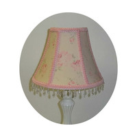 Durham Pink Rose Shabby Chic ~ Lamp Shade
