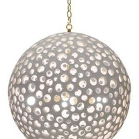 Annika Chandelier Oly Studio resin round ceiling l
