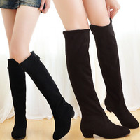High Thigh Over-the-Knee Casual Women Boots