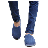New Men Anti-slip Shoes Soft Warm House Indoor Slippers