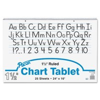 """Pacon Chart Tablet, 24""""X16"""", 25 Sheets/Tablet"""