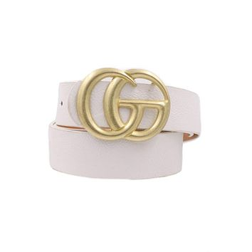 Lifelong Love Belt (White)
