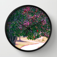 Fall Time  Wall Clock by Lauren Lee Designs