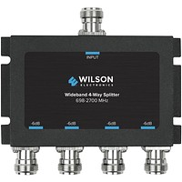 Wilson Electronics 4-way -6db Cellular Signal Splitter With N-female Connectors