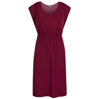 Favorite nursing dress - Merlot