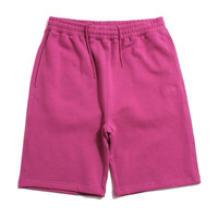 Stock Fleece Shorts Pink