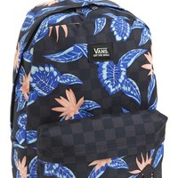 Men's Vans 'Old Skool II' Print Backpack
