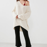 BDG Harper Knit High/Low Sweater | Urban Outfitters
