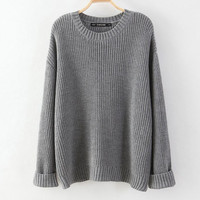 Lora Oversized Knit Sweater
