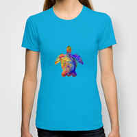 Psychedelic Sea Turtle T-shirt by JT Digital Art  | Society6