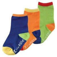 Luvable Friends3-Pack Kickproof Non-Skid Socks | Affordable Infant Clothing