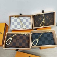 LV classic trend women's versatile clutch bag zipper key case