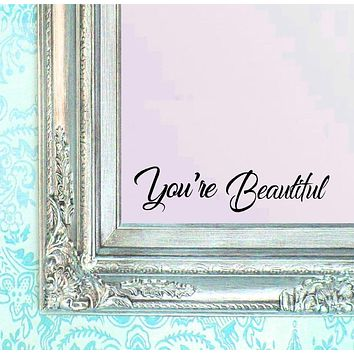 """Wall Decal Sticker Be Amazing Today 16"""" X 3.5"""""""
