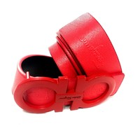 Salvatore Ferragamo Belt | Size 34 or 85 cm | Red Leather | Red Buckle | SIG