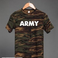 Rep the Army-Unisex Green T-Shirt