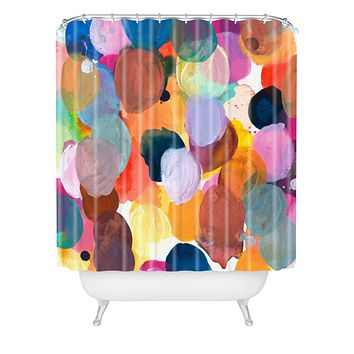 Kent Youngstrom pallet Shower Curtain