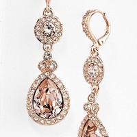 Women's Givenchy Crystal Teardrop Earrings