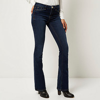 Dark wash Molly flared jeggings - bootcut / flared jeans - jeans - women