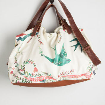 Travel Girl Meets Voyage Weekend Bag by Disaster Designs from ModCloth