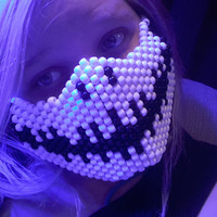 Smiling Skeleton Kandi Surgical Mask