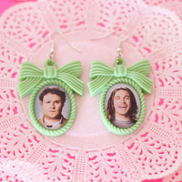 Pineapple Express Seth Rogen and James Franco cameo earrings - Pixie and Pixier
