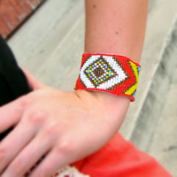 Part of the Tribe Bracelet {Orange}